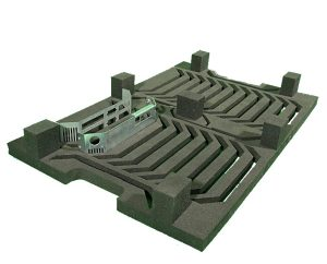 Ladungsträger | Schaumstoffeinlagen - Transportverpackung