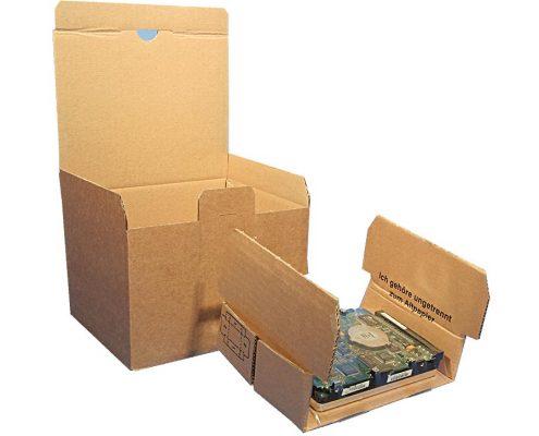 Fixier Verpackung Offen