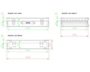 Flightcase Koffer VATRO021 Modell