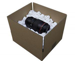 Fullmateial Transport Verpackung Weiss - bio abbaubar