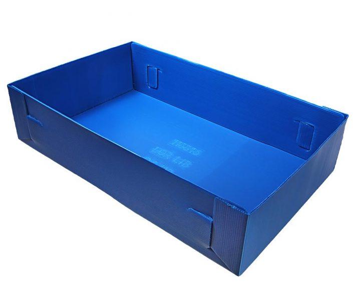 Hohlkammerplatten Transport Box