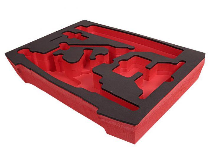 Schaumstoff-Formteile / Schaumstoffeinlage