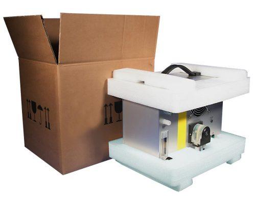 Geräteverpackung - konstruktive Schaumverpackung