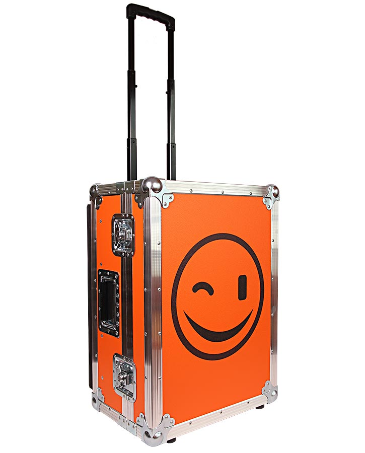 Flightcase Trolley Orange