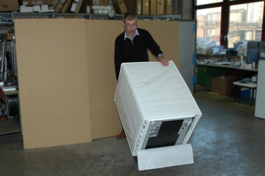 Safe2go Transport Verpackung