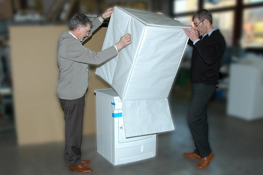 Safe2go Weisse Ware Verpackung