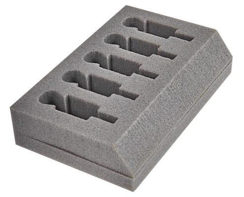 Schaumstoff Formteile Grau