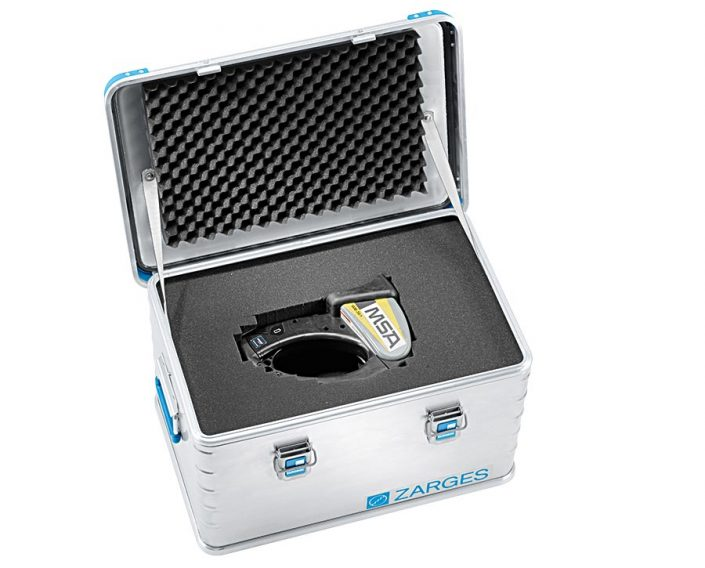 Zarges Waermebild Gerät Schutz Kiste