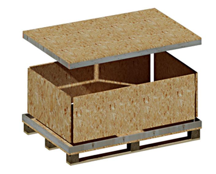 Holz Steckbox Kiste
